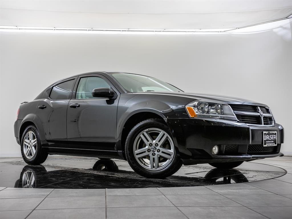 Pre-Owned 2010 Dodge Avenger R/T, LATCH, Heated Seats, Alloy Wheels