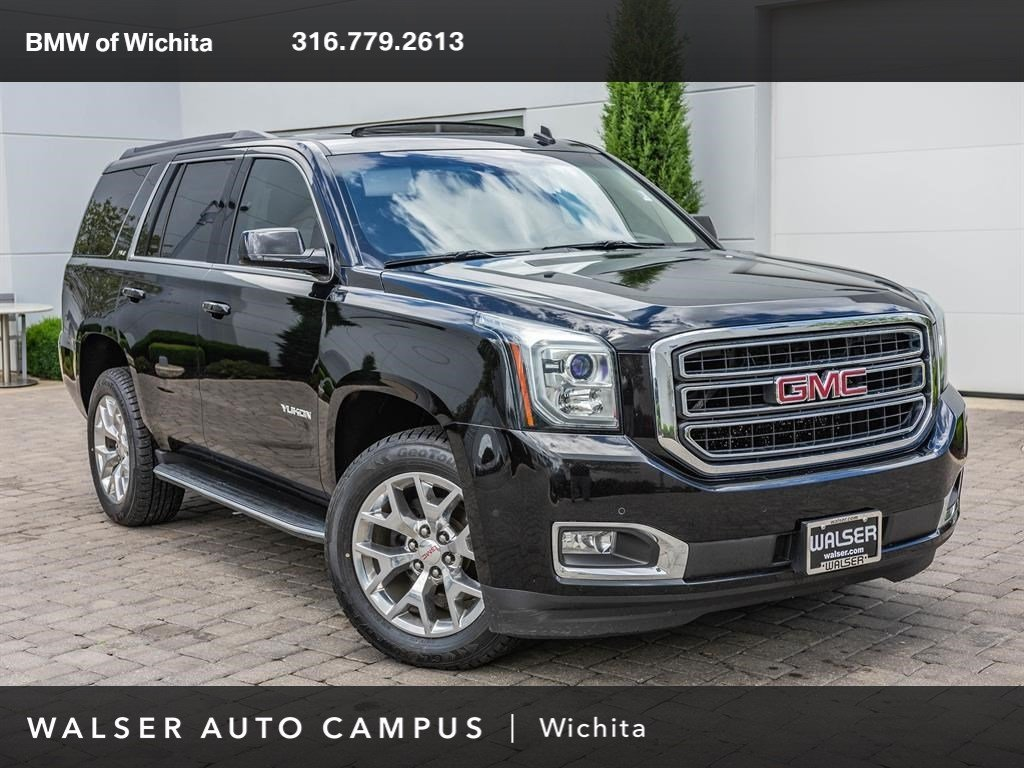 2015 Gmc Yukon Slt >> Pre Owned 2015 Gmc Yukon Slt Upgraded Wheels Sport Utility
