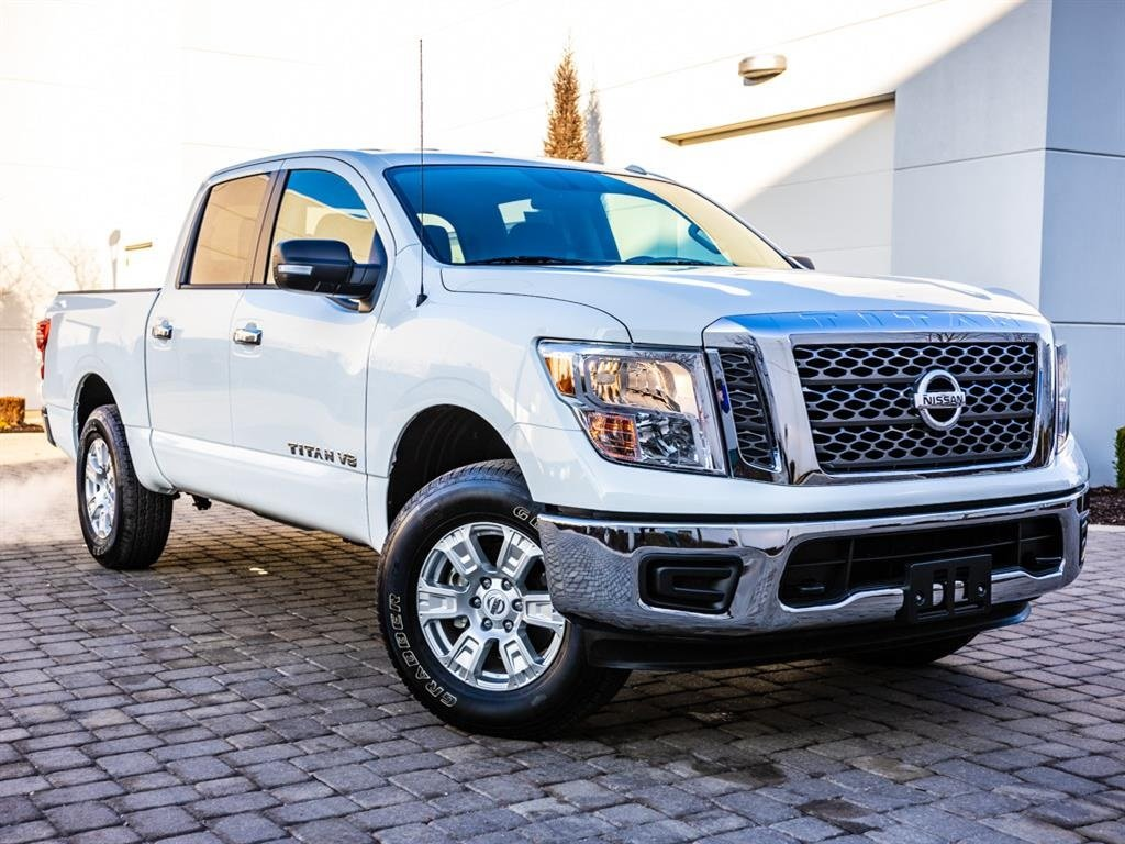 Pre-Owned 2018 Nissan Titan S, Alloy Wheels, Bluetooth, Rear View Camera