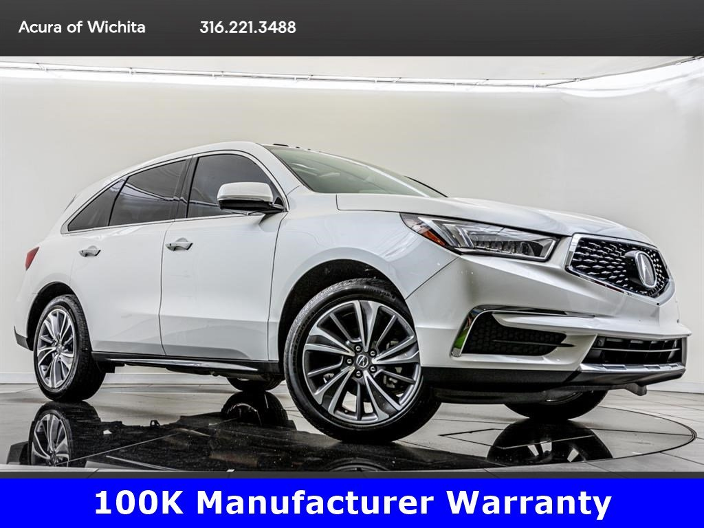 Certified Pre-Owned 2018 Acura MDX SH-AWD Technology Package