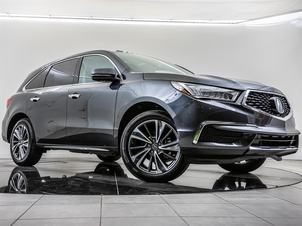 Certified Pre-Owned 2019 Acura MDX Tech SH-AWD, BT, Blnd Spt, Nav, Rr Crs