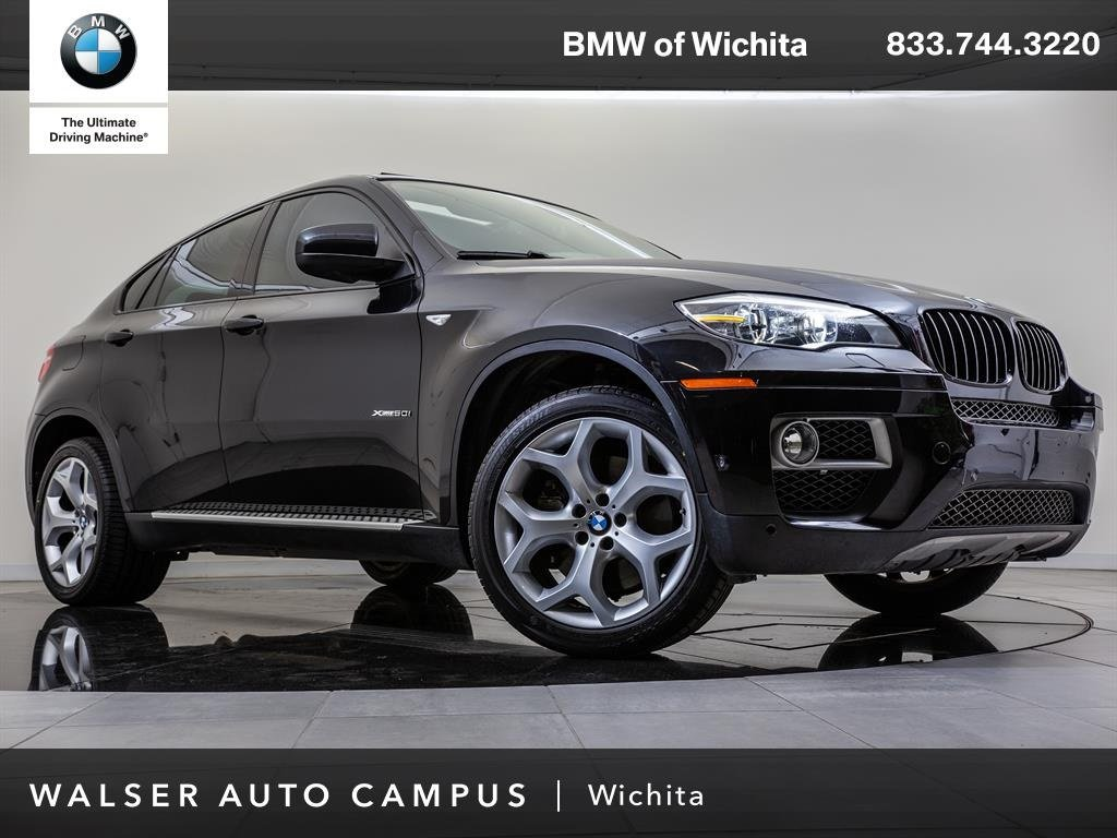 Pre-Owned 2013 BMW X6 xDrive50i Navigation, Rear/Side/Top View ... on