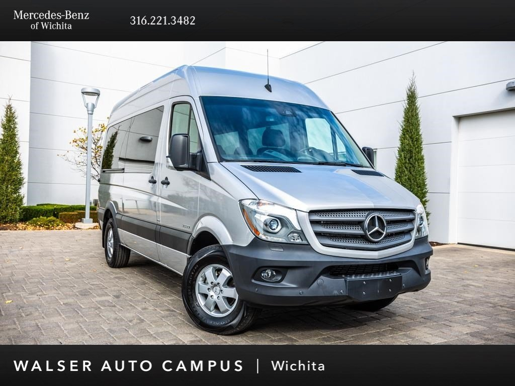 Pre Owned 2016 Mercedes Benz Sprinter Penger Vans 2500 144 Wb Rear