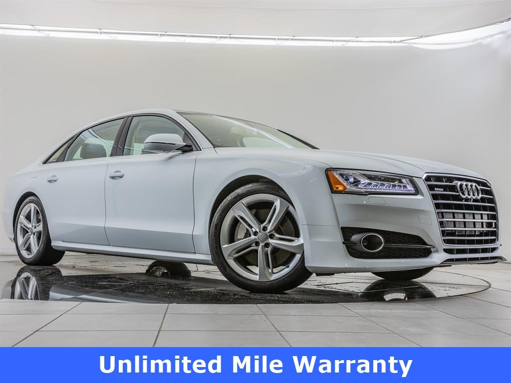 Pre-Owned 2018 Audi A8 L L 3 0T quattro, Executive Package 4dr Car