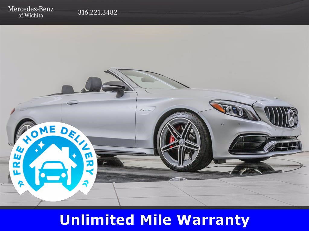 Pre-Owned 2019 Mercedes-Benz C-Class AMG® C 63 S