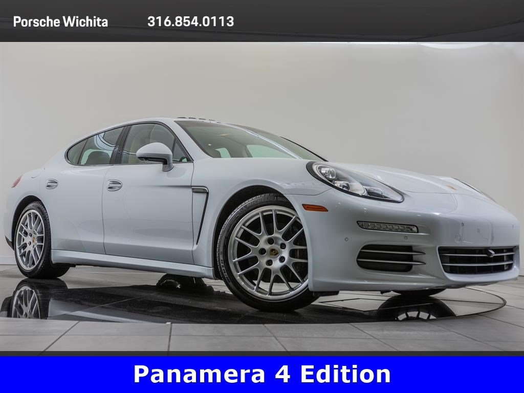 Pre-Owned 2016 Porsche Panamera 4 Edition, Premium Package Plus