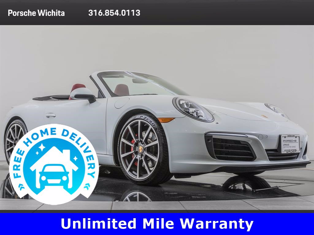 Pre-Owned 2017 Porsche 911 Factory Wheel Upgrade, Premium Package Plus