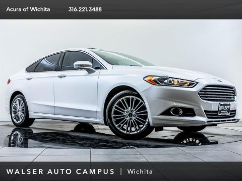 Pre-Owned 2014 Ford Fusion SE, Navigation, Moonroof, Rear View Camera