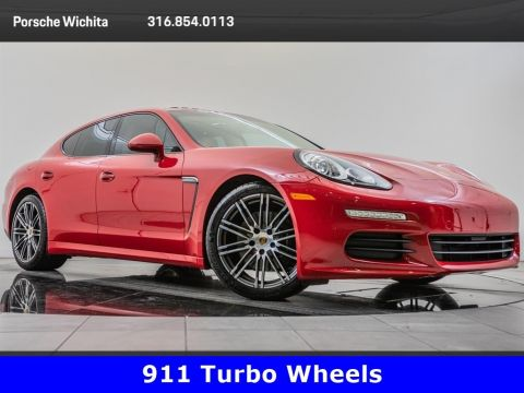 Pre-Owned 2016 Porsche Panamera Edition, Premium Pkg Plus, Upgraded 20-Inch Wheels